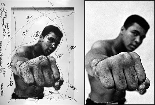 Retrato Muhammad Ali