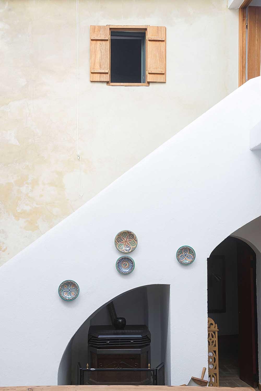 Detalle Casa de Dos Plantas en Vejer