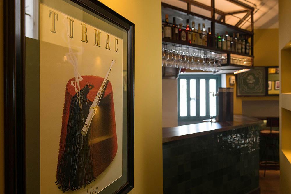 Detalle Decoración Bar en Vejer