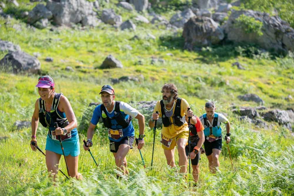 Participantes de la Riaño Trail Run