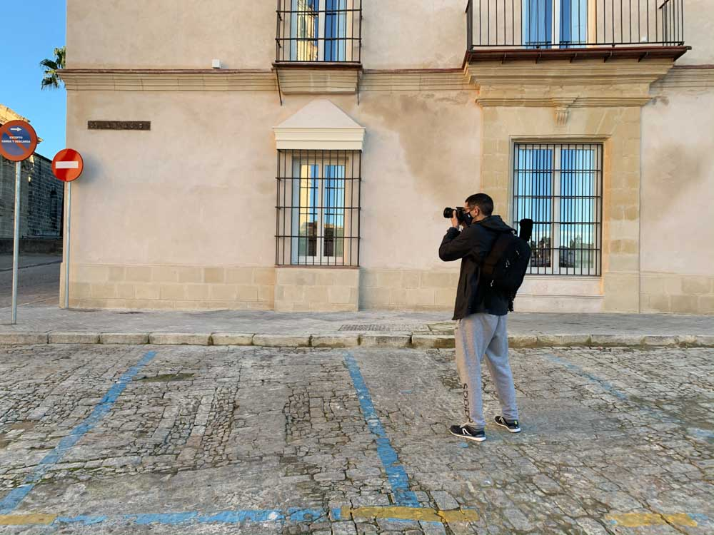 Clase de Fotografía en Jerez